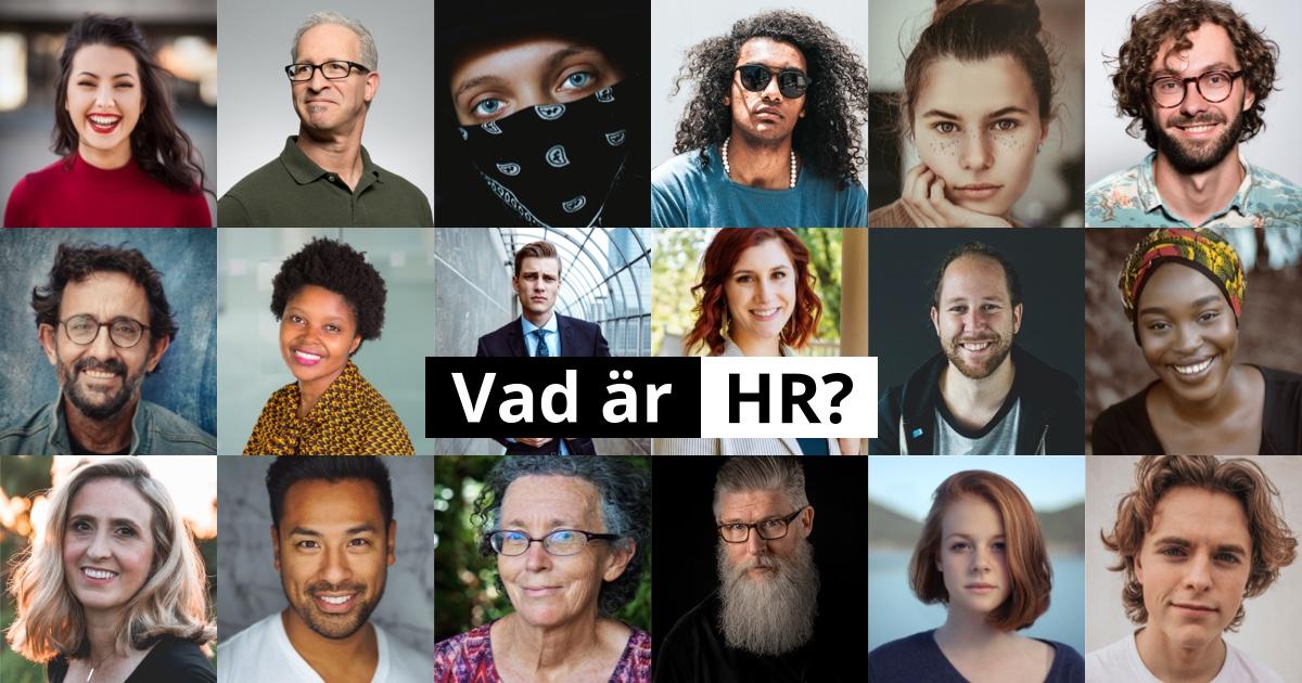 Vad är HR?