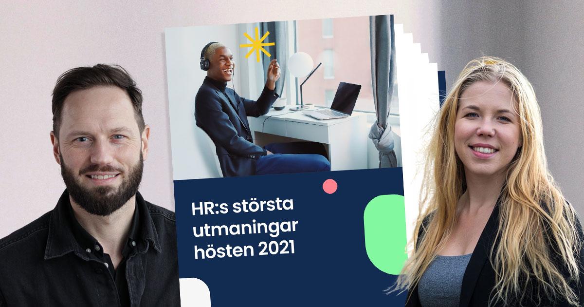 HR:s största utmaningar hösten 2021