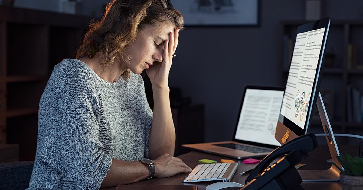 Chefer glömmer bort anställdas hälsa